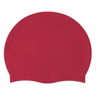 Силиконовая шапочка для плавания Afiter, Цвет: Бордовый