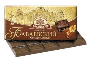 Шоколад ОРИГИНАЛЬНЫЙ БАБАЕВСКИЙ 100г
