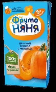 ДП Нектар ФРУТОНЯНЯ Тыква с мякотью 200г