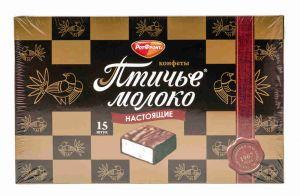 Набор конфет ПТИЧЬЕ МОЛОКО 200г сливочно-ванильное Красный Октябрь