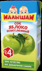 ДП Сок ФРУТОНЯНЯ Малышам Яблоко осветленный 125г