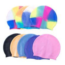Силиконовая шапочка для плавания Afiter, Цвет: Микс (случайный)