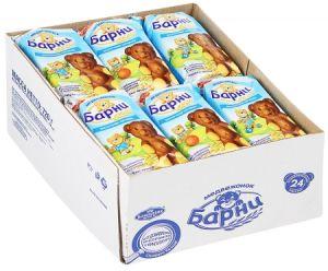 Пирожные МЕДВЕЖОНОК БАРНИ с молочной начинкой 30г