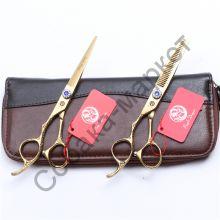 Набор грумера 6 дюймов ножницы 2 шт Purple Dragon серия Шайн