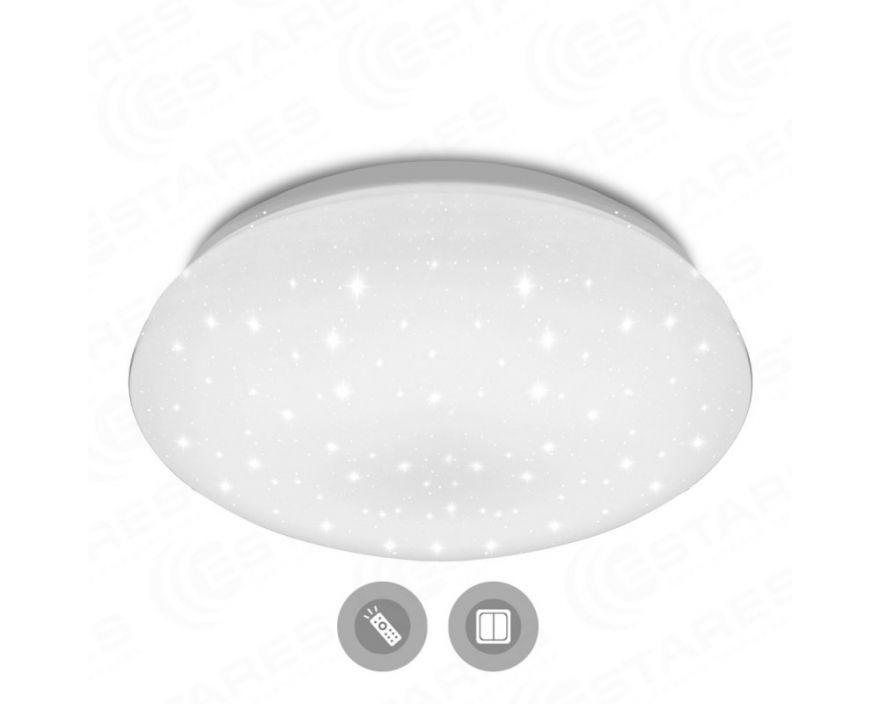 Светильник светодиодный управляемый Estares Astrella SATURN 100W белый с пультом ДУ