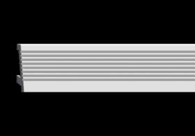 Карниз Европласт Лепнина 6.53.702 Д2000хШ25хВ70 мм