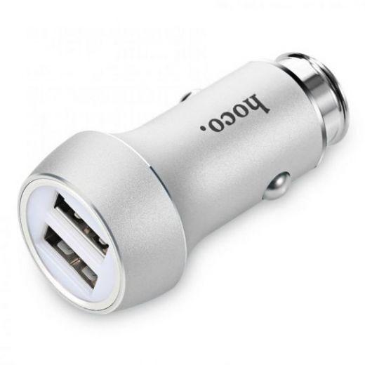 Автомобильная зарядка HOCO Z7 Kingkong dual USB car charger