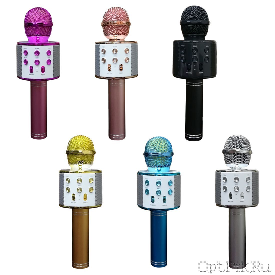 Беспроводной Караоке Микрофон WS-858 с Bluetooth