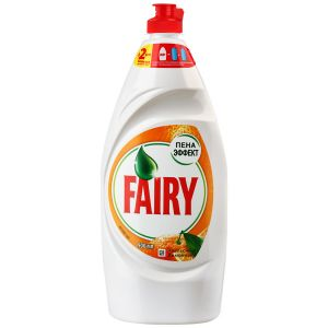 Средство для мытья посуды FAIRY Апельсин и лимонник Пена эффект 900мл