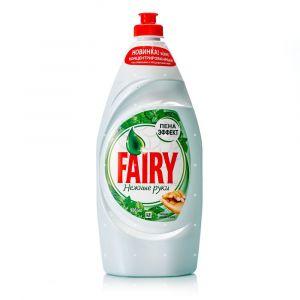 Средство для мытья посуды FAIRY Нежные руки Чайное дерево и мята Пена эффект 900мл