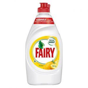 Средство для мытья посуды FAIRY Нежные руки Сочный лимон 450мл