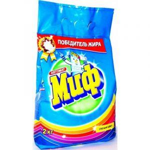 Порошок стиральный Автомат МИФ Свежий цвет м/у 2000г