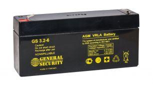 Аккумулятор General Security GSL3.2-6