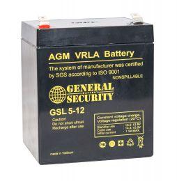 Аккумулятор General Security GSL5-12