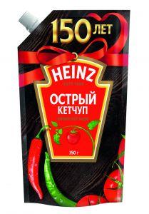 Ketçup Heinz acılı dispenserli 350 gr
