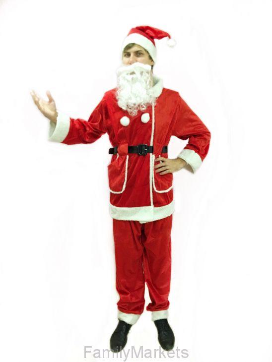 Костюм Санта Клауса универсальный Santa Suit One Size