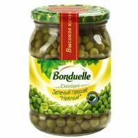 Горошек Bonduelle стекло,580 гр