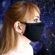 красивая женская маска из хлопка