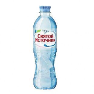 Питьевая вода СВЯТОЙ ИСТОЧНИК не газированная, 0,5 л