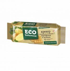 Крекер ECO BOTANICA пищевые волокна/ картофель/зелень Рот Фронт 175г