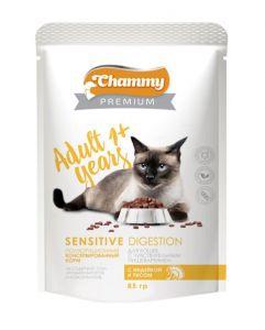 Корм для кошек CHAMMY PREMUIM 85г Индейка с рисом