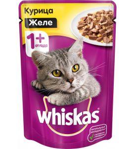 Корм для кошек WHISKAS 85г Желе кролик