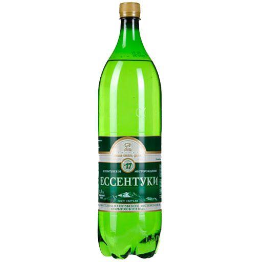 Минеральная вода ЕССЕНТУКИ № 17 упаковка ПЭТ, 0,5 л