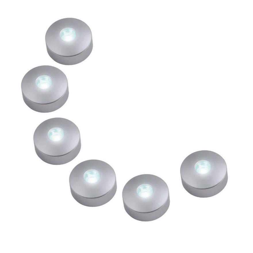 Светильник светодиодный Uniel 1W ULM-R04-1W*6/NW IP33