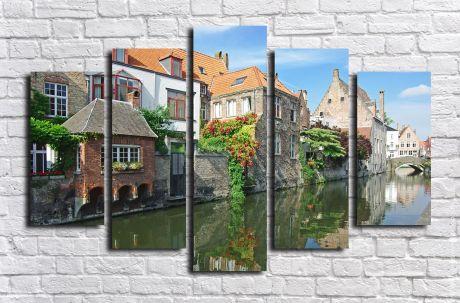 Модульная картина город 32