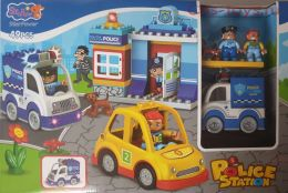 Конструктор StaPaw Police Station Полиция со светом 3804 (Аналог LEGO DUPLO) 49 дет