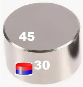 Неодимовый диск 45х30