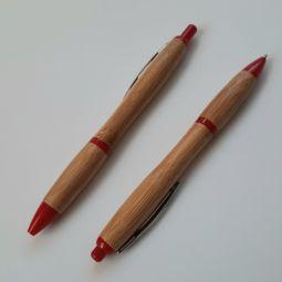 ручки из бамбука с логотипом на заказ