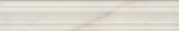 BLF001R | Бордюр Багет Греппи белый