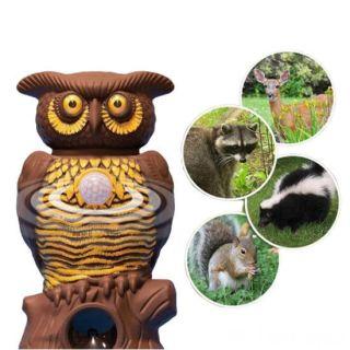 Садовый ультразвуковой отпугиватель вредителей Owl Alert