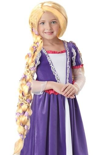 Детский парик Рапунцель