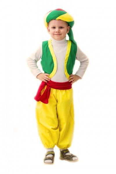 Яркий костюм Алладина детский