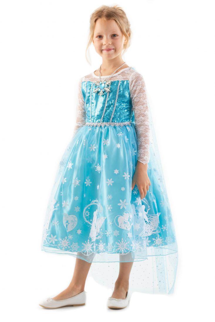 Детское платье Эльзы Холодное сердце