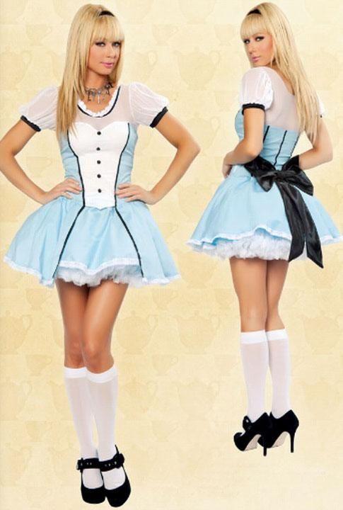 Платье Алисы из Страны Чудес