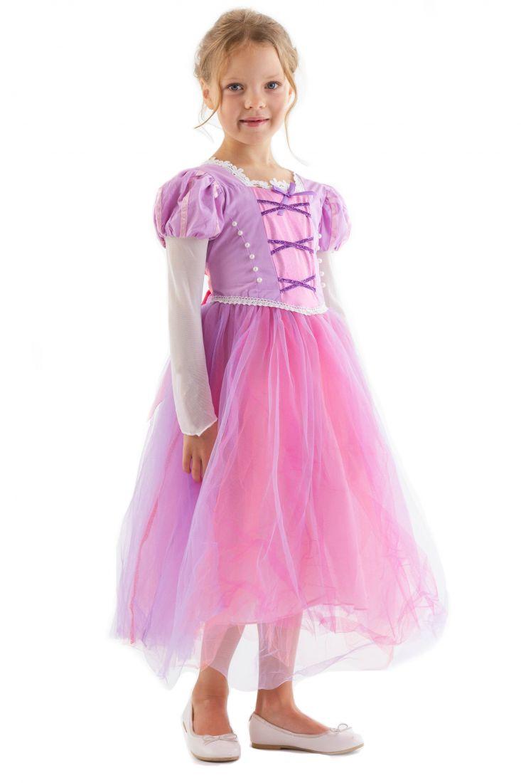 Розовое платье Рапунцель