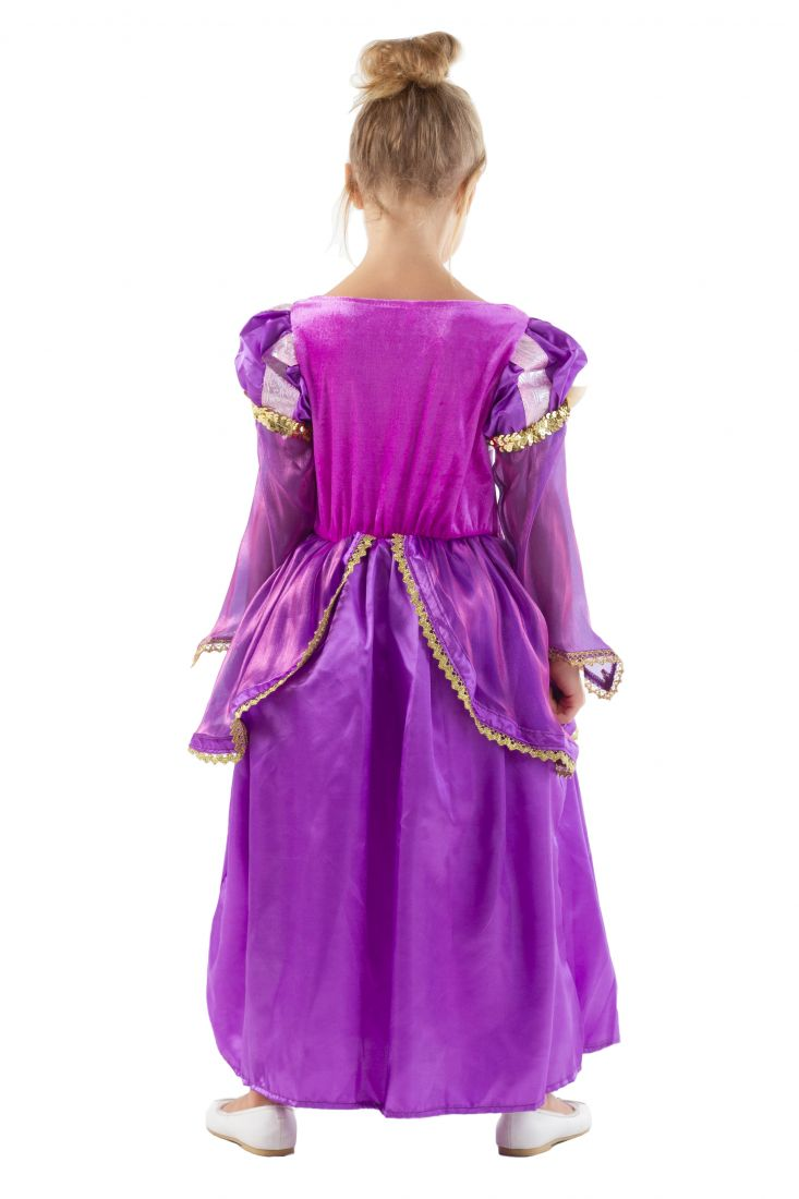 Фиолетовое платье Рапунцель