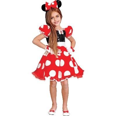 Красный костюм Минни Маус