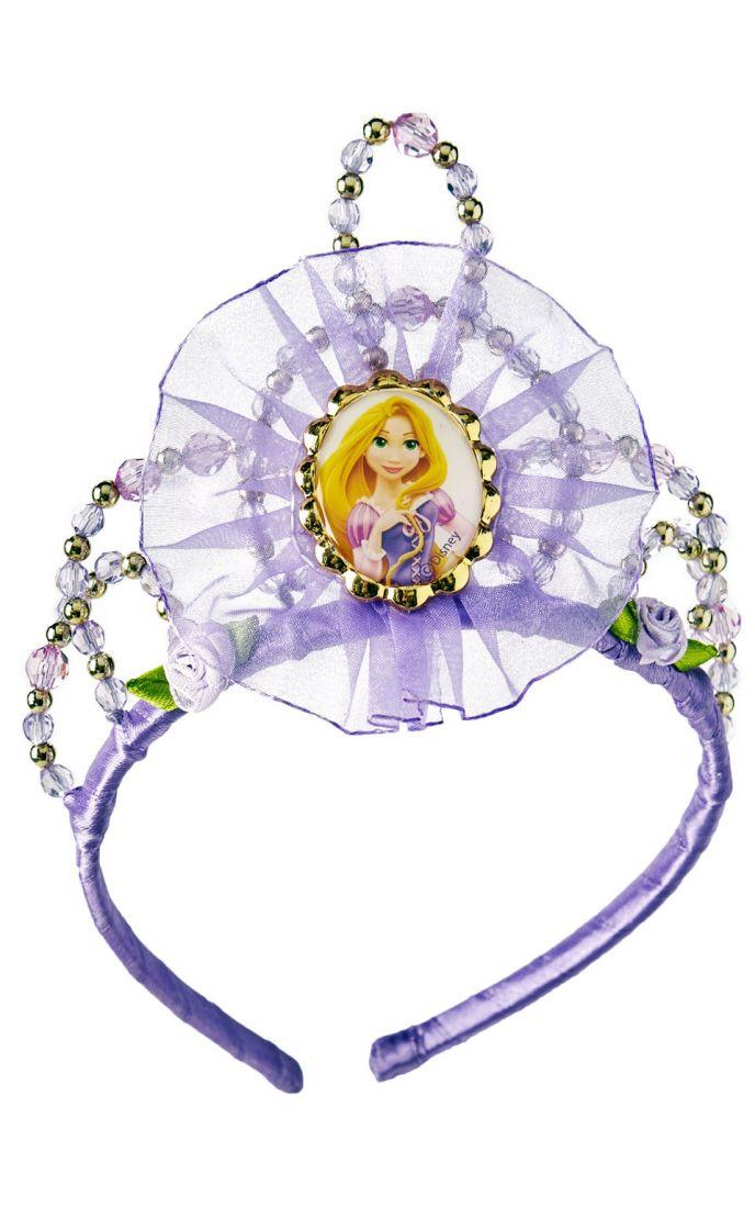 Тиара Рапунцель фиолетовая