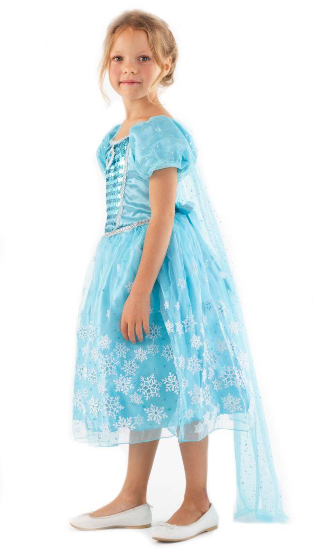 Голубое платье Снежной королевы Эльзы