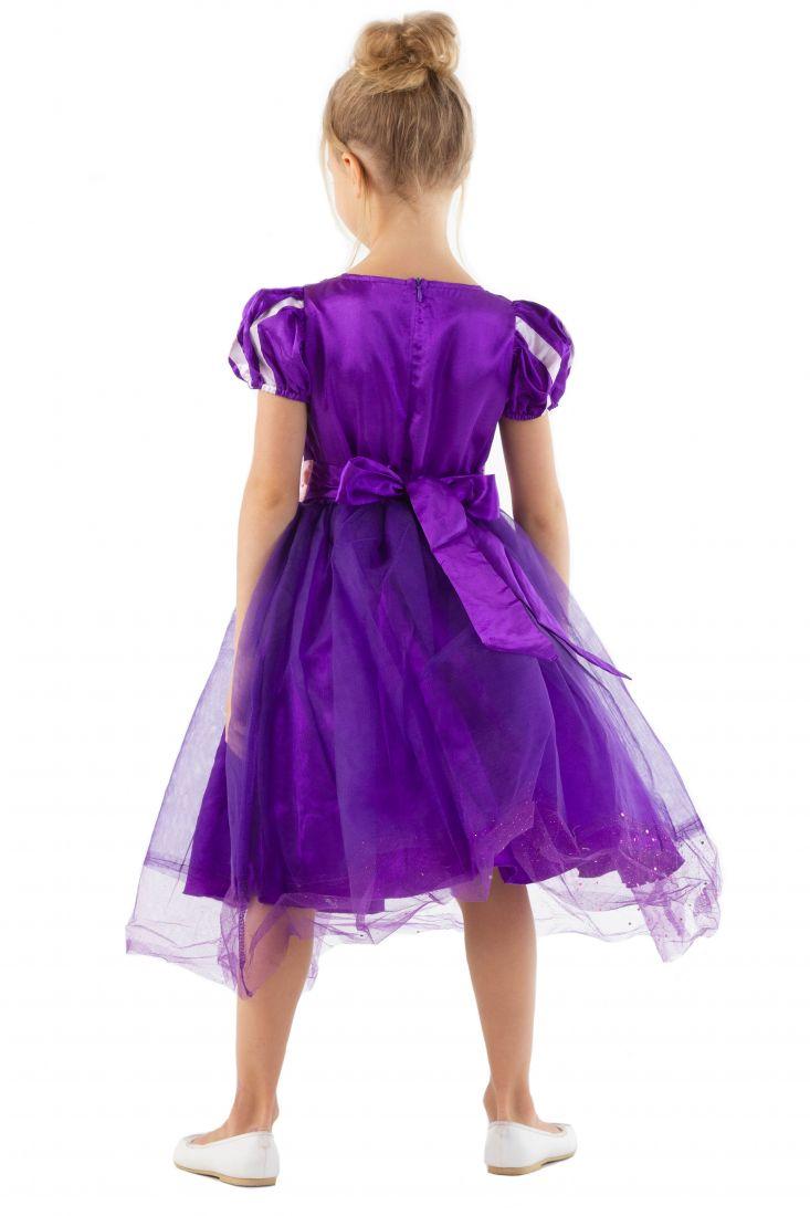 Фиолетовое платье принцессы Рапунцель