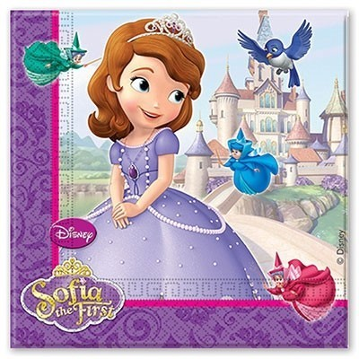 Бумажные салфетки Принцесса София