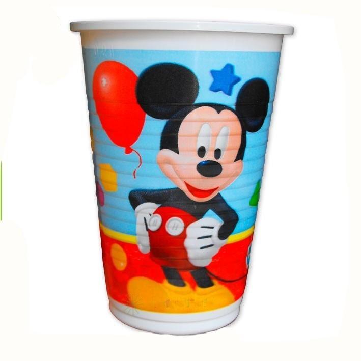 Пластиковые стаканы Микки Маус