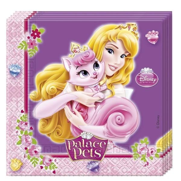 Бумажные салфетки Принцессы Диснея