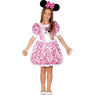 Розовый костюм Минни Маус