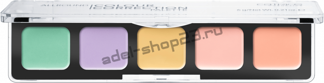 Catrice - набор для коррекции лица Allround Colour Correction Palette