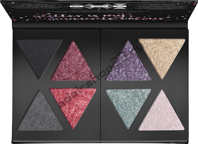 Catrice - Палетка теней The Glitterizer Mix N' Match Eyeshadow Palette